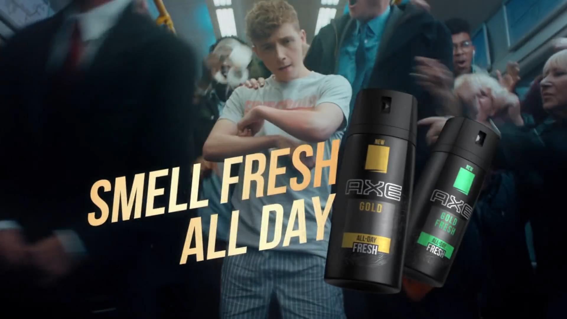 Rush Hour - AXE Gold Bodyspray