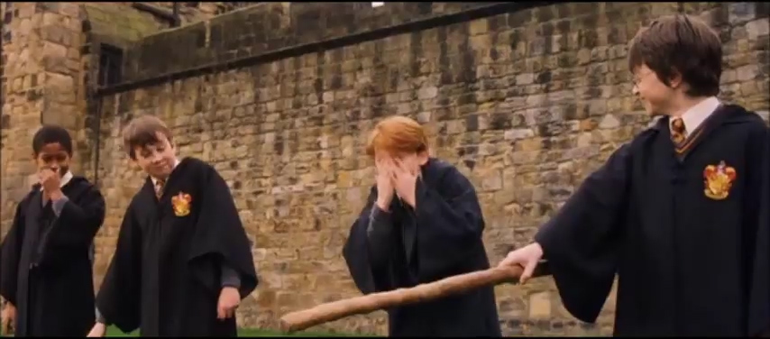 Harry Potter - First Flying Lesson