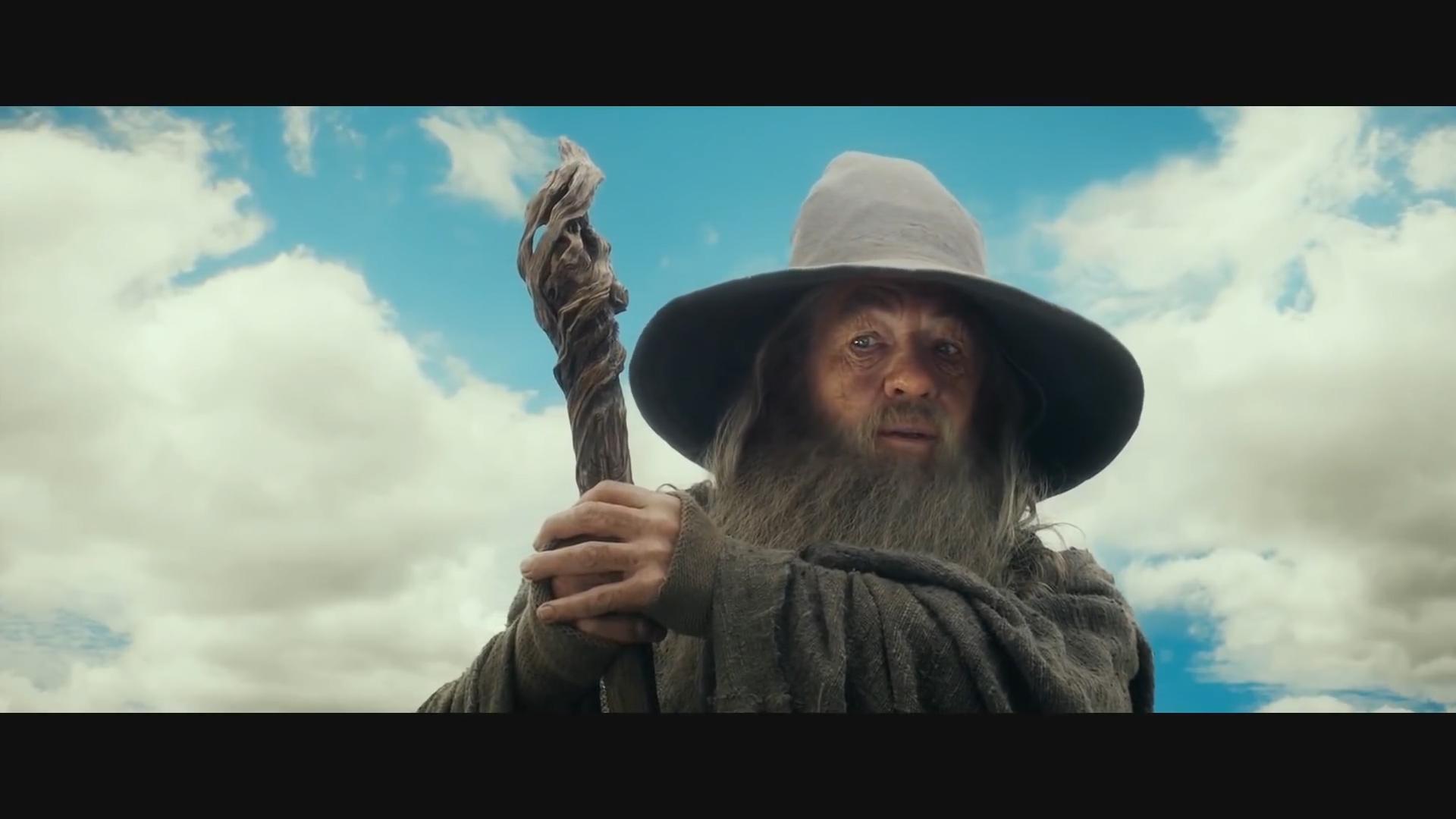 The Hobbit An Unexpected Journey - Bilbo meets Gandalf