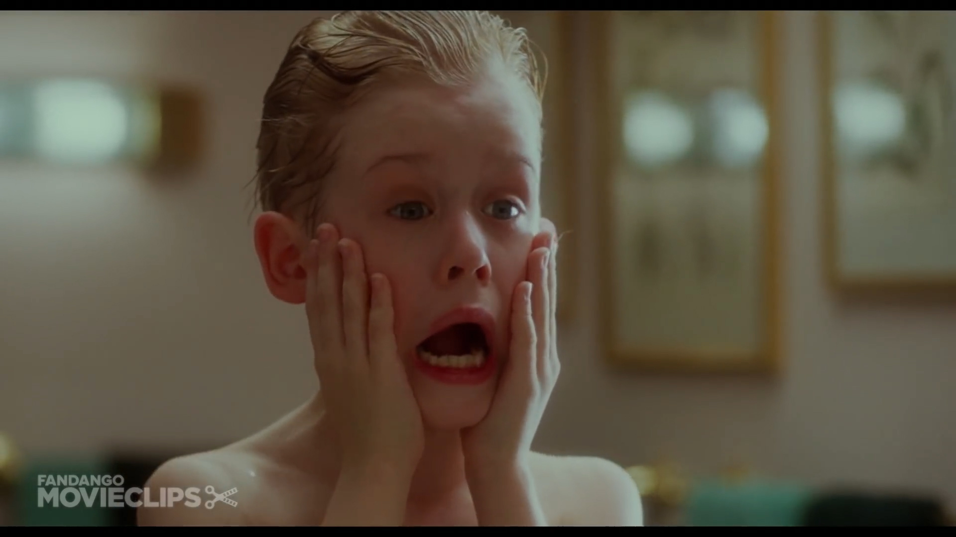 Home Alone - Kevin Washes Up