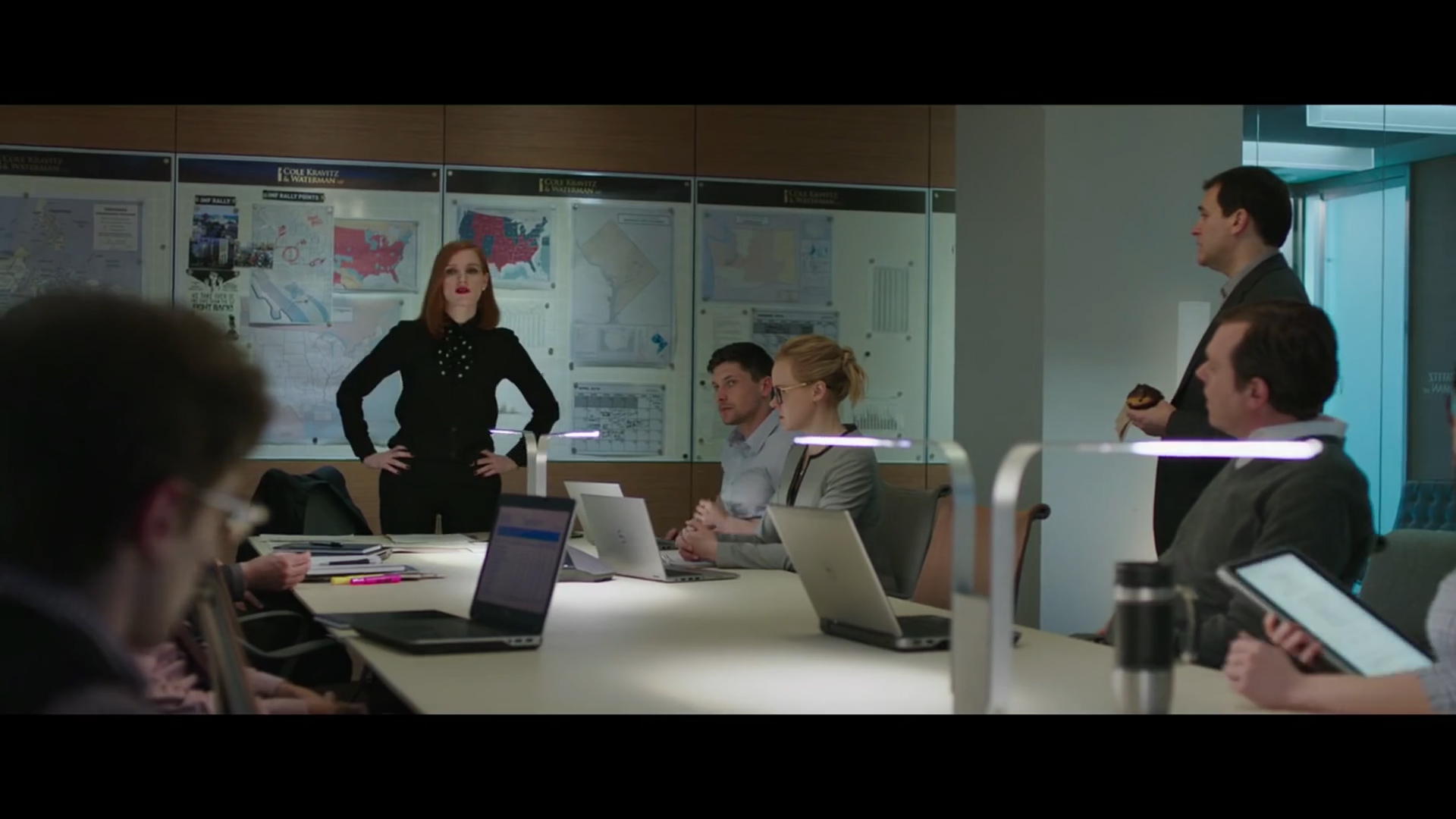 Miss Sloane - Who's with me?