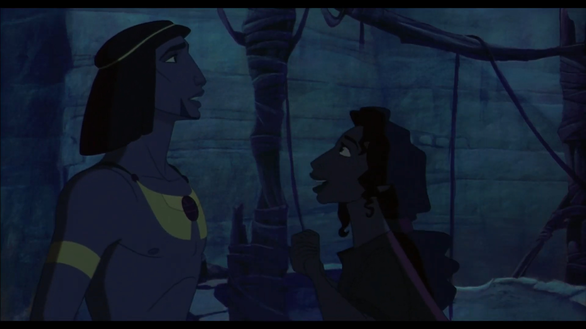 [1] The Prince of Egypt - Moses Meets Miriam and Aaron