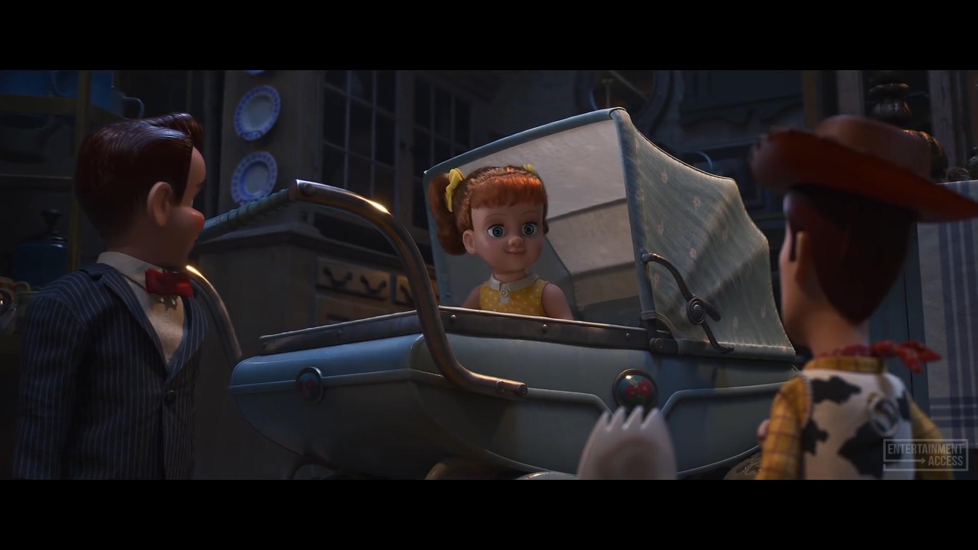 Toy Story 4 - Gabby Gabby and Benson