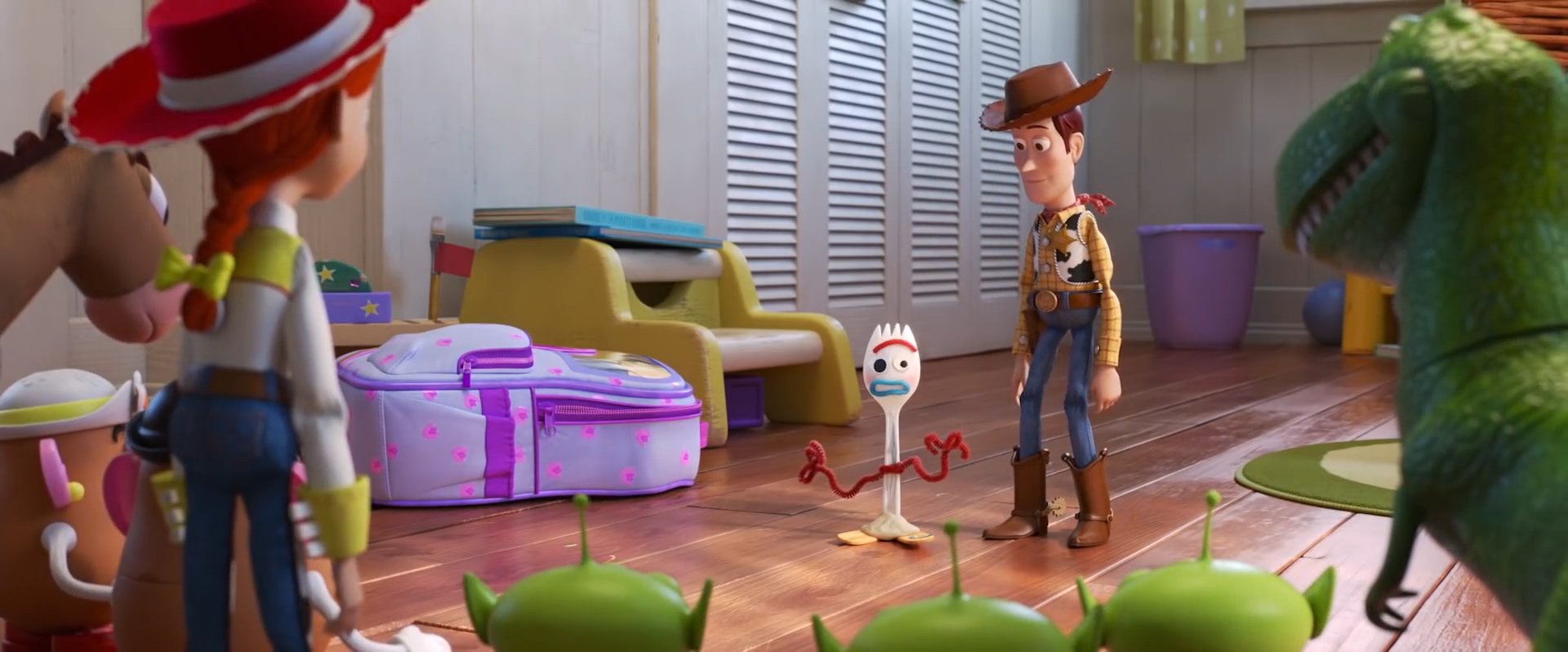 Toy Story 4 - Making a New Friend