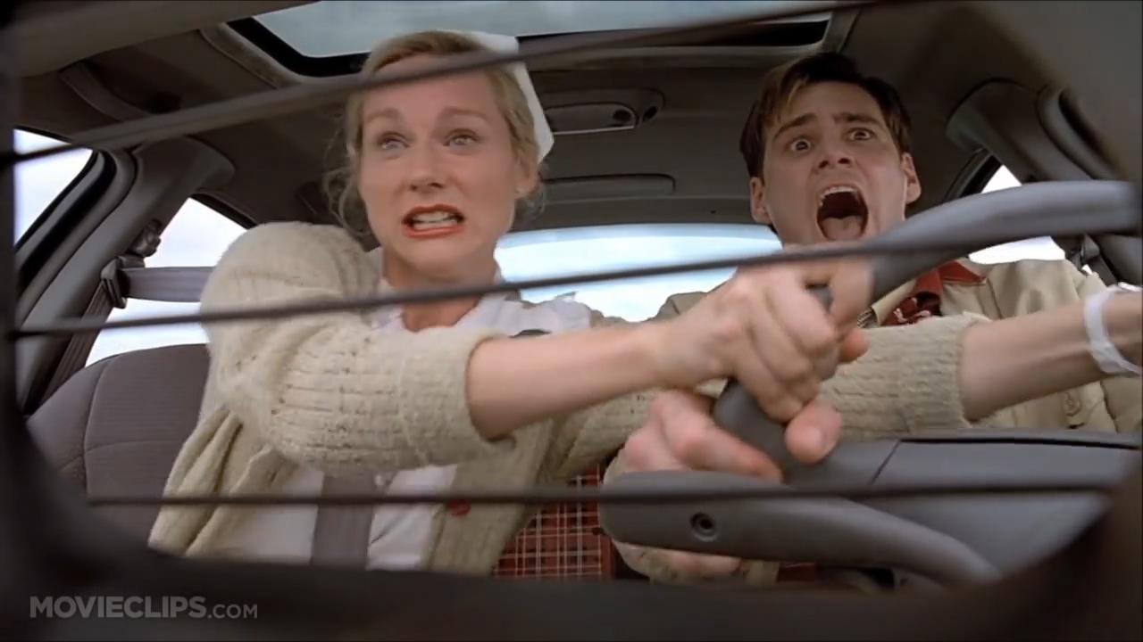 [1] The Truman Show - Driving Through Fire