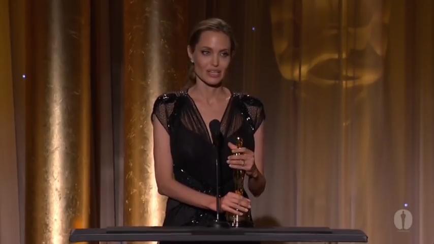 Angelina Jolie - The Jean Hersholt Humanitarian Award Speech