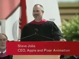 [1] Steve Jobs' Stanford Commencement Address
