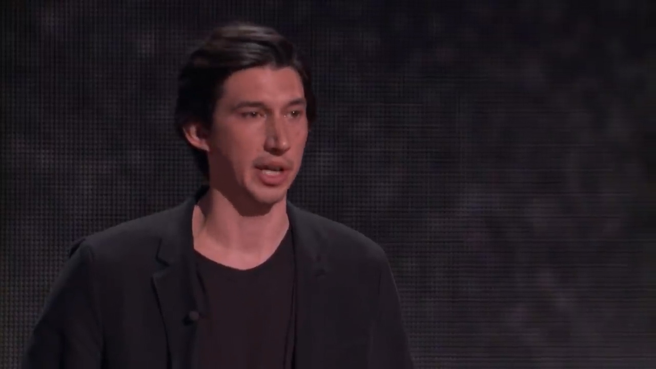 [1] My journey from Marine to actor - Adam Driver