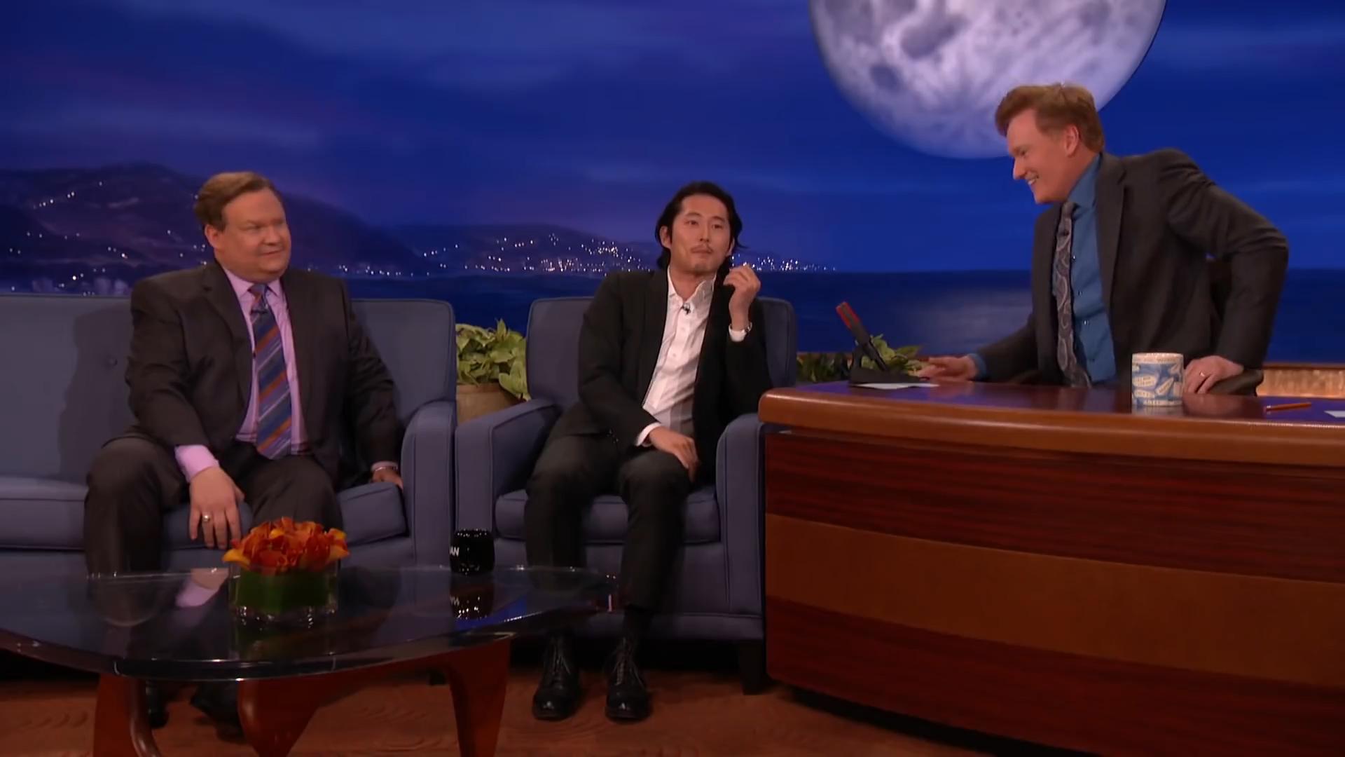 Steven Yeun: Not All Asians Look Alike! - Conan Show