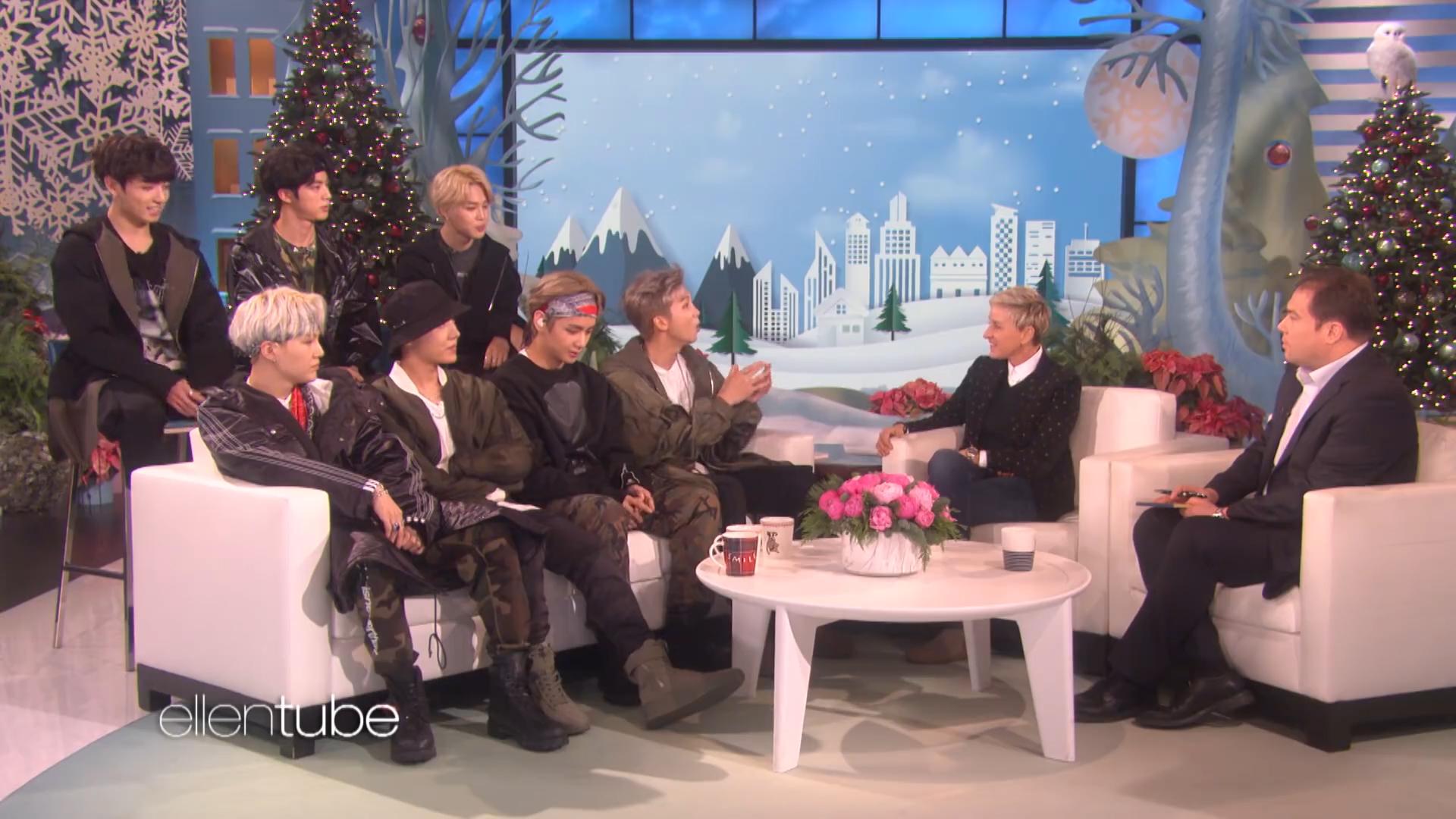 [1] BTS - Ellen show