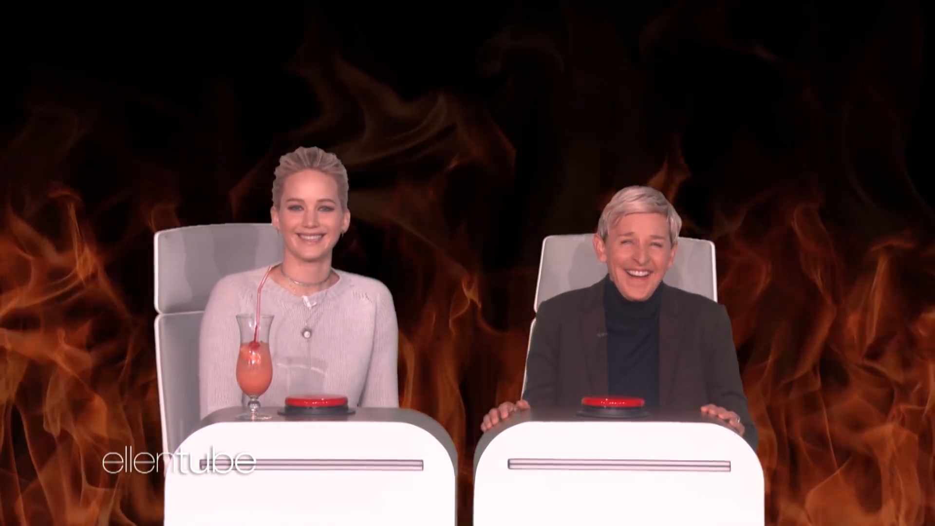 [1] Jennifer Lawrence Answers Ellen's 'Burning Questions'