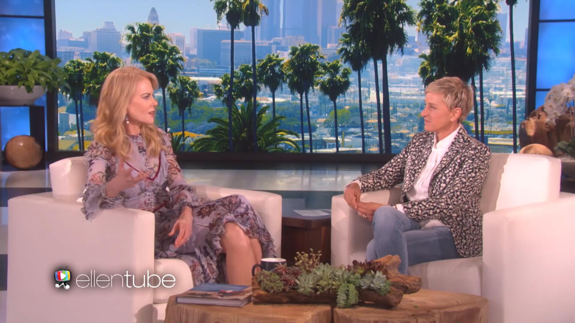Ellen show - Nicole Kidman