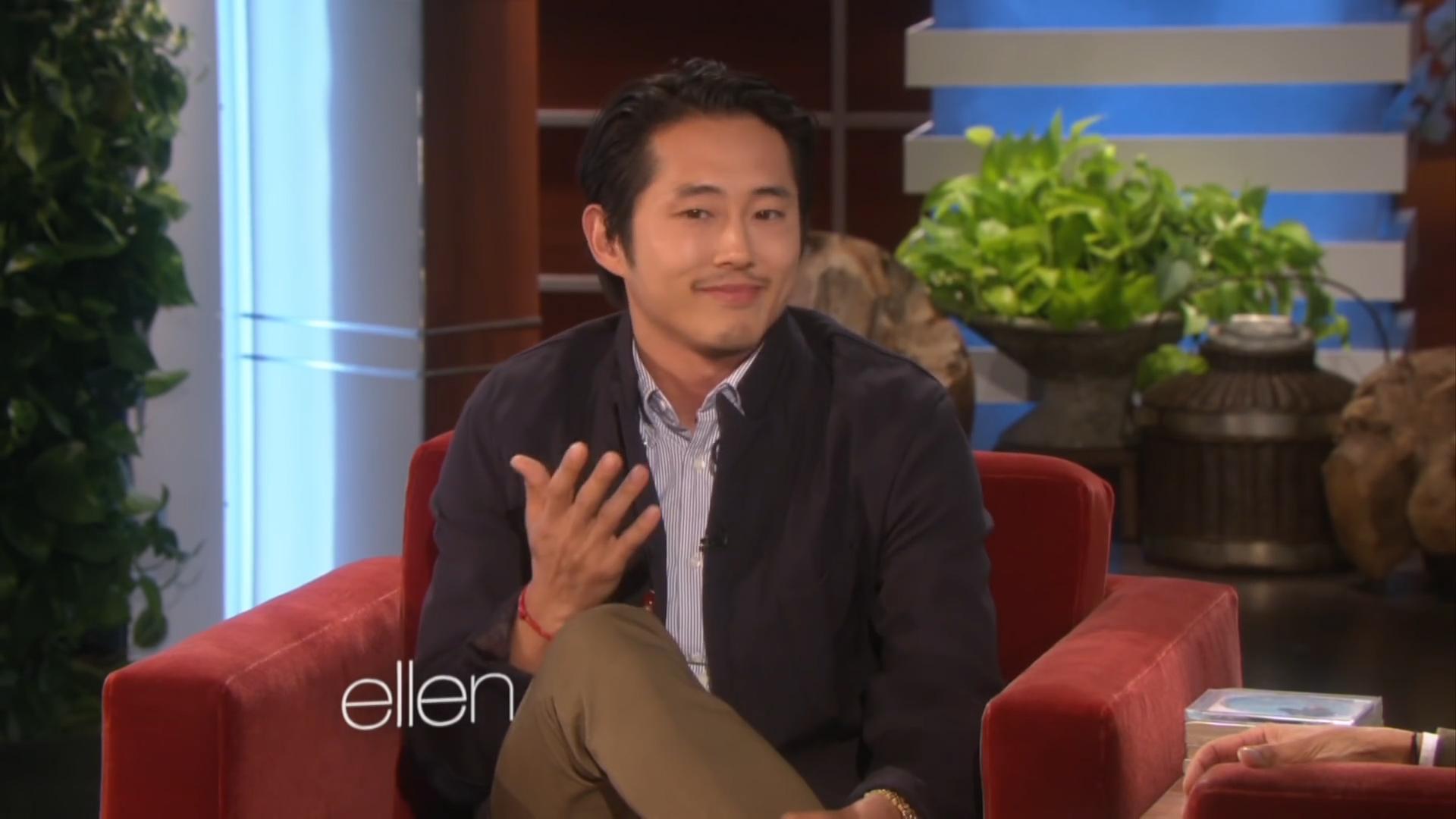 Ellen show - Steve Yeun