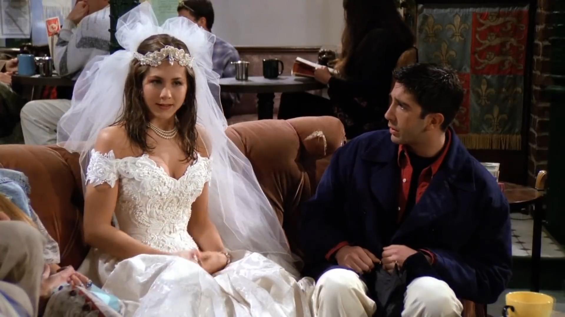 [1] Friends - Rachel runs away from the wedding