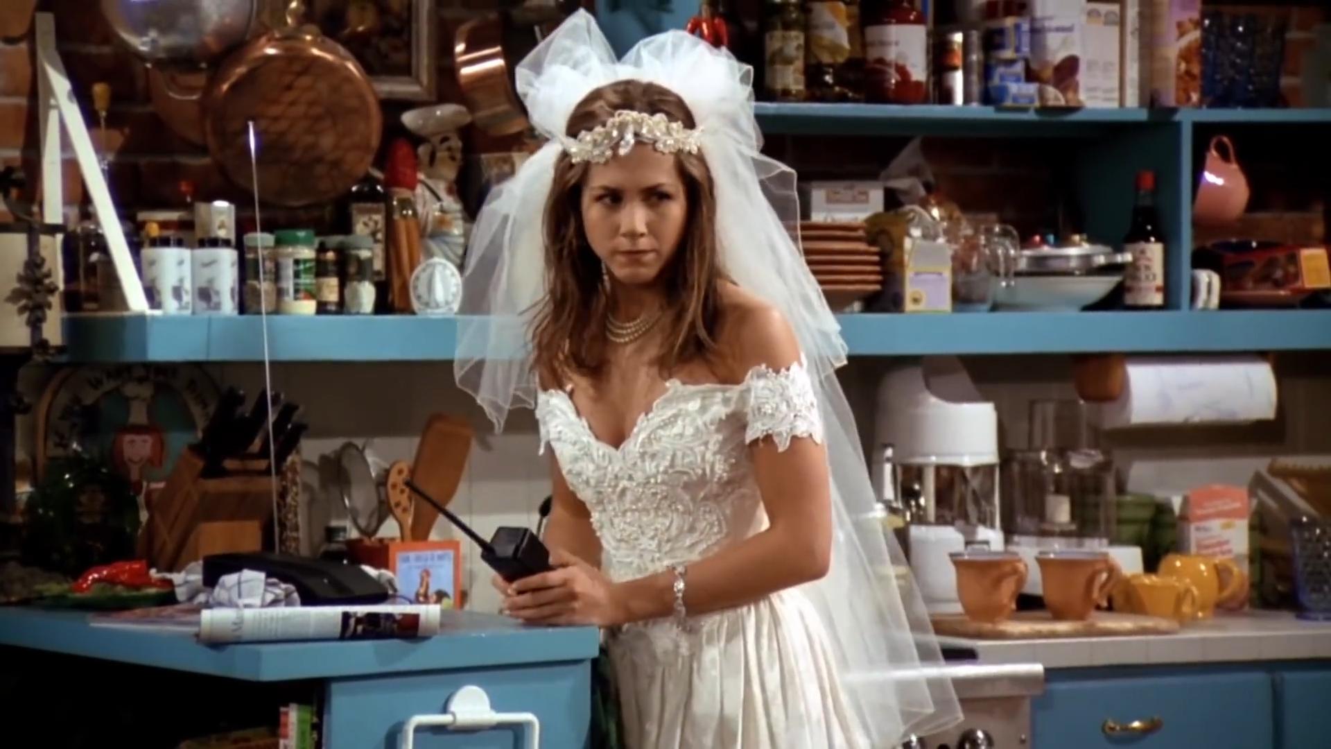[2] Friends - Rachel runs away from the wedding