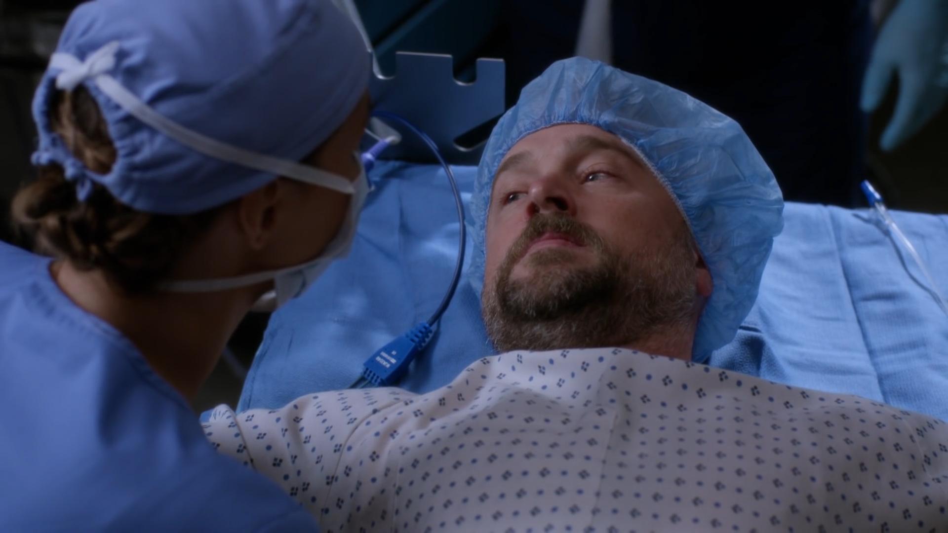 Grey's Anatomy S13 E14 - Jo Tells Abusive Husband