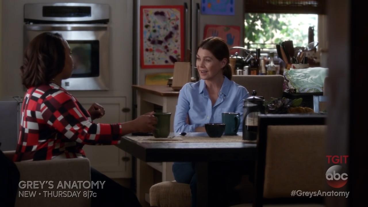 Grey's Anatomy S13 E14 - Bailey Asks Meredith to Return