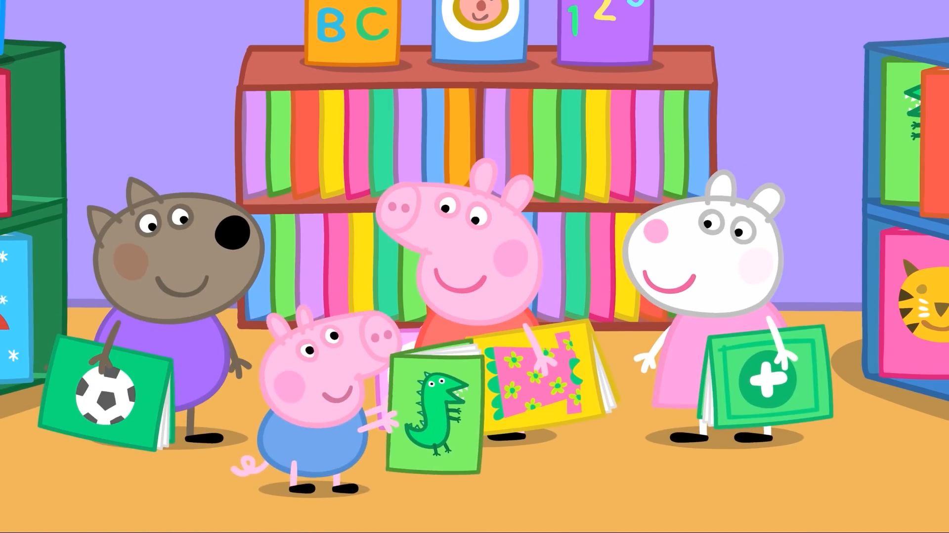 [3] The Library - Peppa Pig S3 E4