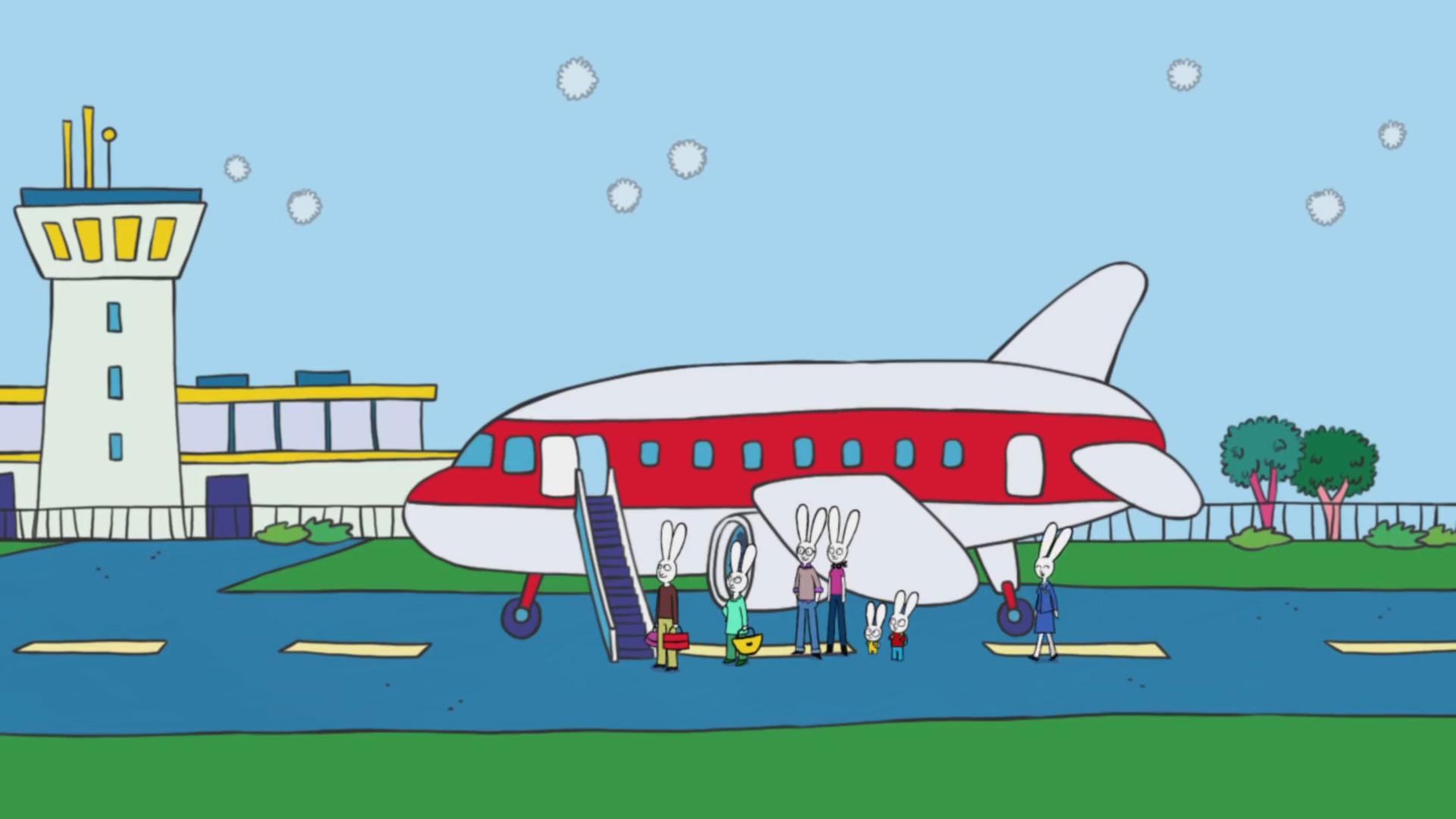 [1] Simon - In the aeroplane