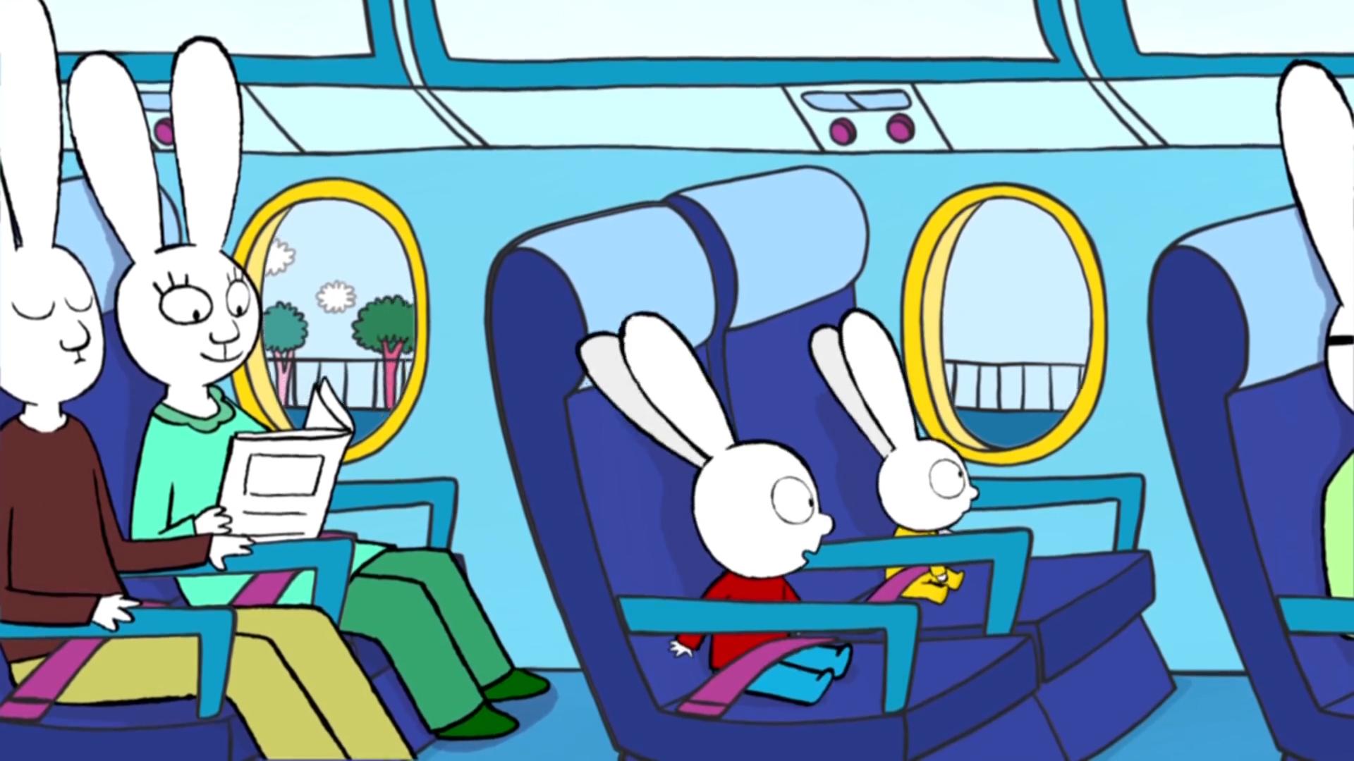[3] Simon - In the aeroplane